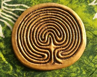 Finger Labyrinth Earthy Path