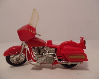 1981 Harley Davidson Motorcycle (K-83) Red - Matchbox (Diecast Metal)