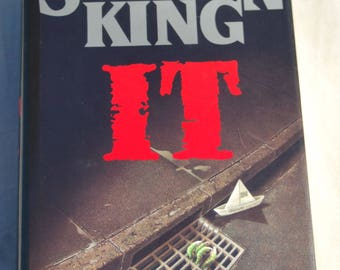 Stephen King's IT  First Edition First Printing