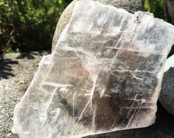 Large Thin Optical Calcite Crystal