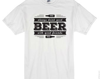 Cool Beer T-shirt - Free Shipping