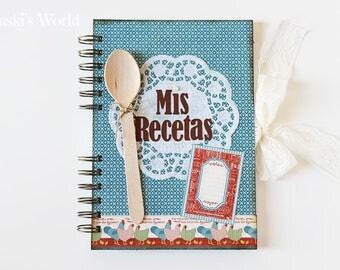 Cookbook, vintage, recipe book, Recipes, Cookbook, Spoon