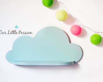 Cloud Shelf, Shelf For Baby Nursery, Kids Room, Wall Decorations, Decorations for Bedroom, Wooden Shelf, Decor, Wall Artwork Clouds