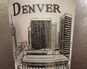 Vintage Denver shot glass