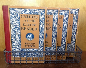Vintage McGuffey's Eclectic Readers Set of Four
