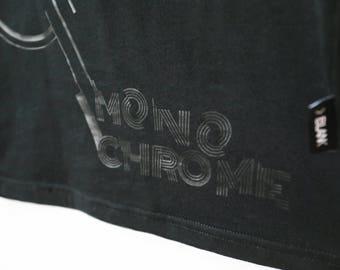 T-shirt black monochrome Gaspard