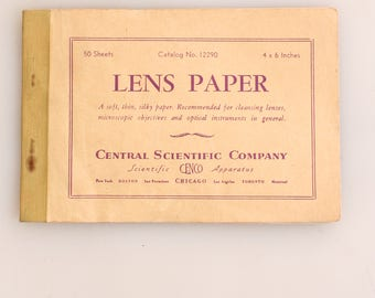 Lens Cleaning Paper Sheets