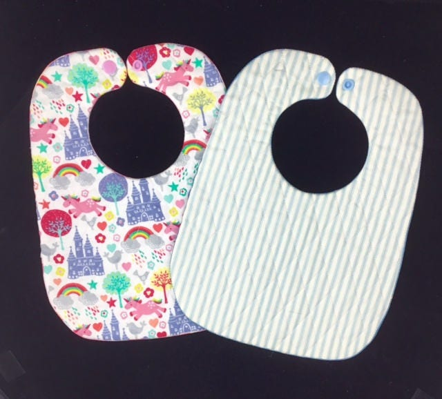 Free Patterns For Quilted Baby Bibs : 9x12 ITH Baby Bib pattern Dimond quilted baby bib design