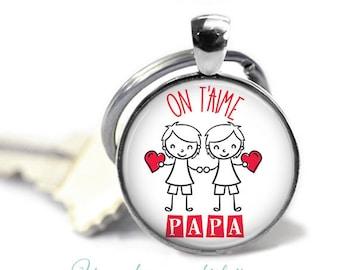 Keychain dad - father's day gift, birthday #17