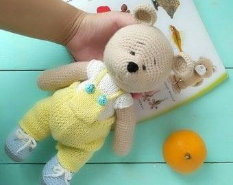 teddy bear amigurumi pattern