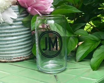 Beer Glass for Groom, Groomsman gift, beer can glass