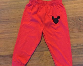 Mickey mouse 1st birthday boy pants outfit, 1st birthday boy outfit, Baby boy first birthday outfit, Mickey smash cake, disney theme