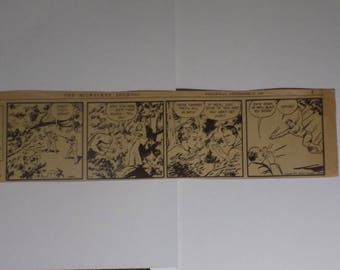 ORIGINAL SUPERMAN Daily Comic Strip - The Milwaukee Journal - Wednesday, September 27, 1939 - 25% Off!