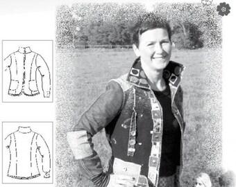 "Farbenmix pattern ""Walking jacket Jackie"""