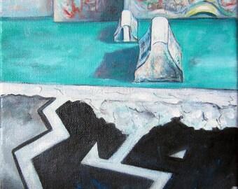 LANDSCAPE urban V - Painting street art