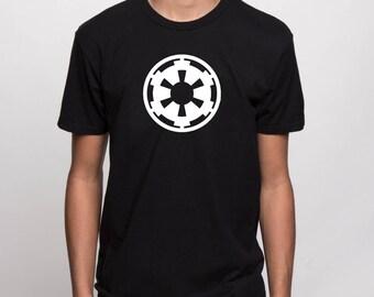 Star Wars - Imperial cog symbol - galactic empire tshirt, logo tee