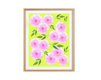 Poster, Print, Wallart, Fine Art-Print, Kunstdruck, living room decoration print A4