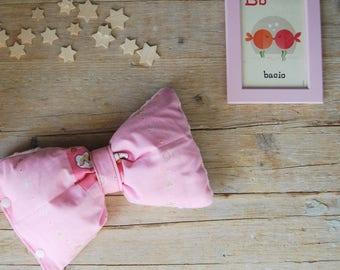 Pillow in chaff of spelt | Ballerina Motif | Heated Pillow | Newborn Gift Idea | Girl Gift Idea | Bow