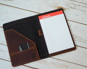 Leather Notepad Holder, 5x8   FREE US Shipping!