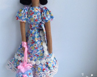 Tilda doll Violetta
