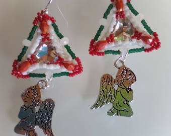 Earrings with Angels
