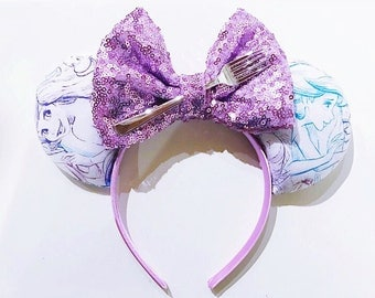 Little Mermaid Ariel Sketch Ears