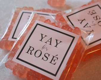 Wedding Favors, Candy Party Favors, Bachelorette Party Favors, Yay For Rose, Party Favors, Rose All Day, Bridesmaid Favors, Yes Way Rose