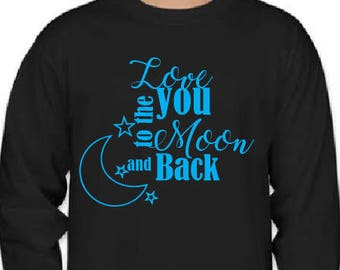 Love you to the Moon & Back -- Valentines Day!