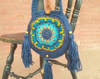 Jewel Tone Mandala Bag