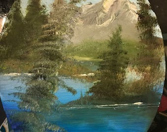 Mountain Song - Original Oil Painting by Delaney Wenos