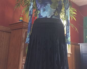 JODI 100% Silk chiffon skirt