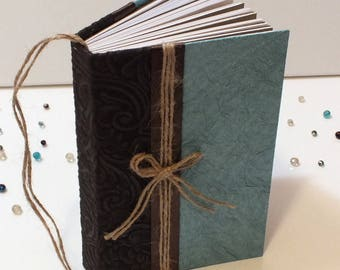 Teal And Brown Journal