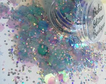 Belle chunky festival glitter