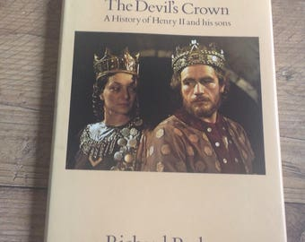 Vintage History Book The Devils Crown, History Book on Henry VII