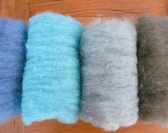 Needle Felting Wool, Needle Felting kit, Felting Wool, Dry Felting, Wet felting, Bheda Wool, Felting Fleece, Felting Wool kit 60g