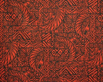 Black and Red Tribal