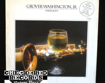 Vintage Grover Washington Jr. Winelight VG+ Vintage Vinyl LP Record Album