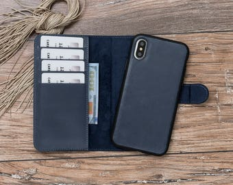 iPhone X wallet Case, iPhone X, iPhone x Case, iPhone x Wallet, iPhone x Leather, Leather iPhone X, iPhone X Blue Case, iPhone X Blue #POLİ