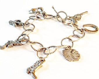 Southwestern charm bracelet