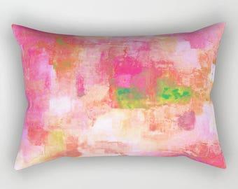 lumbar pillows pink red lumbar pillow enjoy free shipping