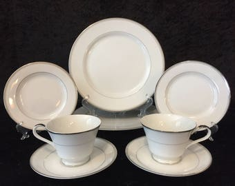 Two 5 Piece Place Settings by Imperial in Sincerity Pattern