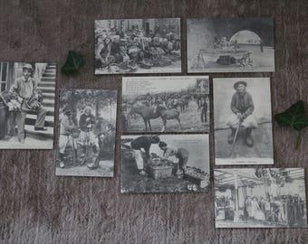 Antique/vintage card / set of 8