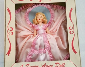 Adorable Queen Anne Collectible Doll