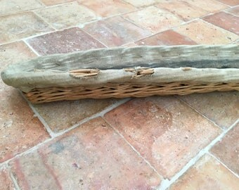 French baguette willow wicker rattan has mold french bakery wicker rattan mold for bread stick