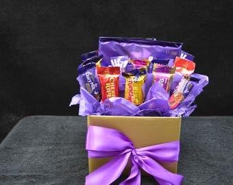 Large Cadbury Block Bouquet