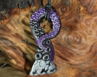 Obsidian Tentacle necklace