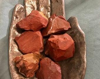 Rough Red Jasper