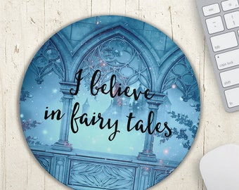 Mouse Pad, Fairy Tales Mousepad, Office Decor