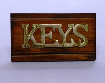 Timber & Brass Key Rack