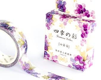 Washi Tape - Grapes   Summer Washi Tape   Summer Washi Tape